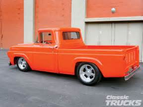 57 Ford F100 1957 Ford F 100 Truck Rod Network