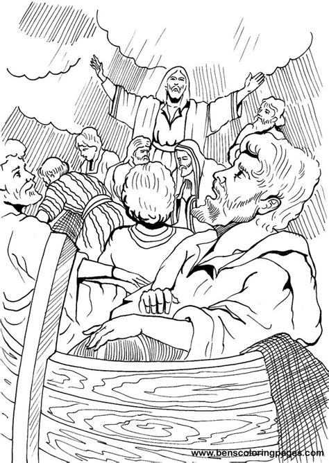 coloring pages jesus calms the jesus calms the coloring page kb grig3 org