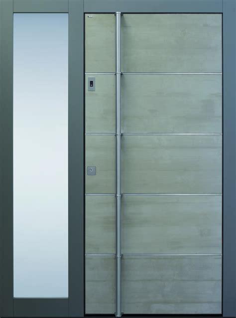 eingangstüren mit seitenteil innent 252 ren wei 223 modern mit glas harzite