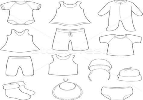 baby dress coloring page coloring baby items page image clipart images grig3 org