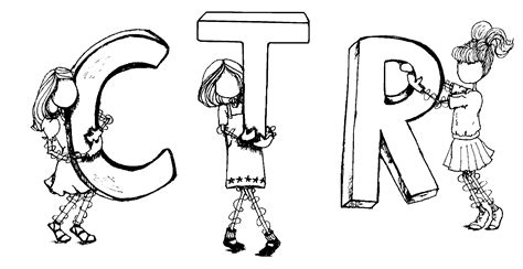 choose the right coloring page lds clipart primary cliparts co