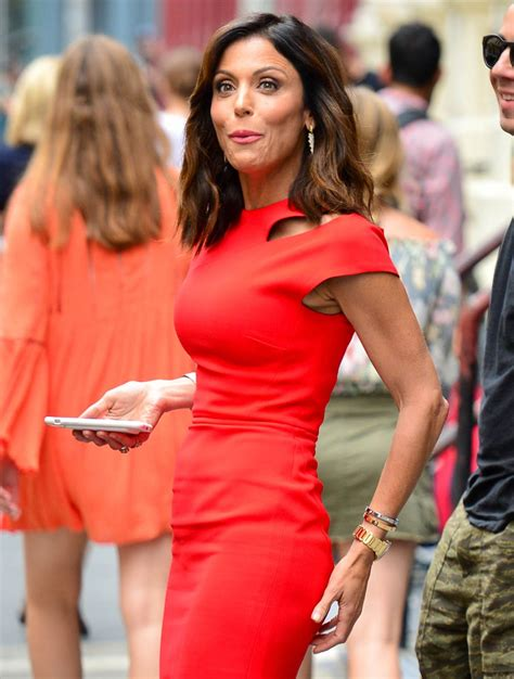 bethenny frankel bethenny frankel in red dress spotted in soho nyc 07 11