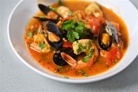 italian seafood stew recipe dishmaps