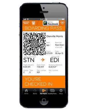 easyjet check in mobile easyjet trials mobile boarding passes future travel