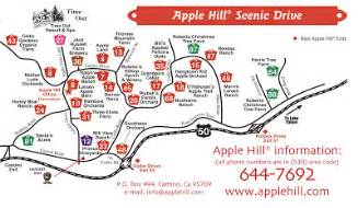 map of apple hill california oh quot k quot already apple hill
