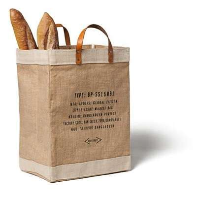 Market Bags By Hersh The Bag by Charitable Eco Bags Market Bag