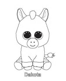 free coloring pages of ty beanie boos pages