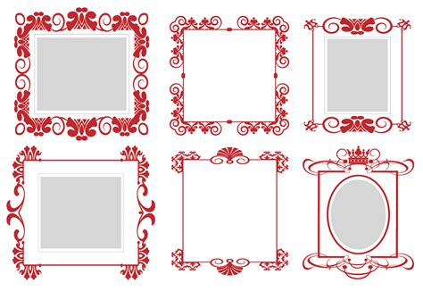 eps format border design free download pattern frame 01 vector free vector 4vector