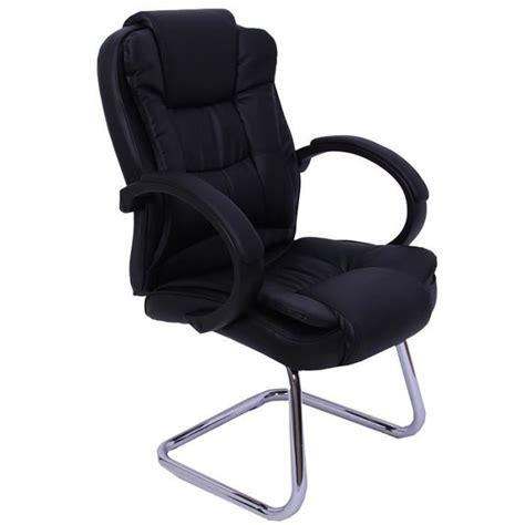 Fauteuil chaise de bureau sans roulette ergonomiqu   Achat
