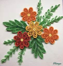 Paper Quilling Flowers - quilled flowers by pinterzsu on deviantart