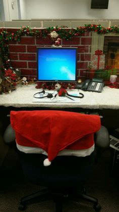 decorate your desk for christmas cubicle christmas decor cubicle ideas pinterest