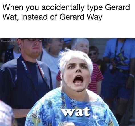 Gerard Way Memes - best 25 mcr memes ideas on pinterest emo bands my