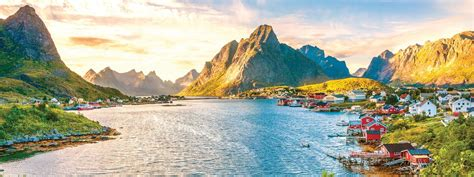 Types Of Houses by Guided Walking On The Lofoten Islands Norway