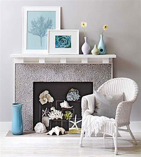 what to do with unused fireplace 11 fantastic ideas for decorating an unused fireplace