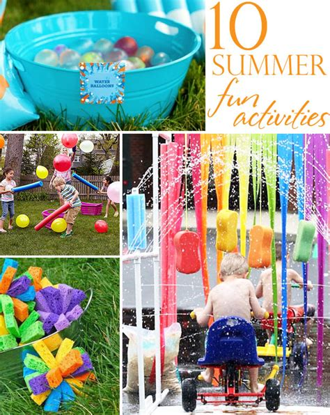 10 Summer Activities by 10 Summer Boredom Busters The Celebration Shoppe