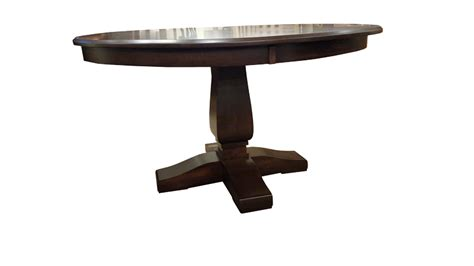 Pedestal Table Dimensions Bassett Single Pedestal Table Ohio Hardwood Furniture