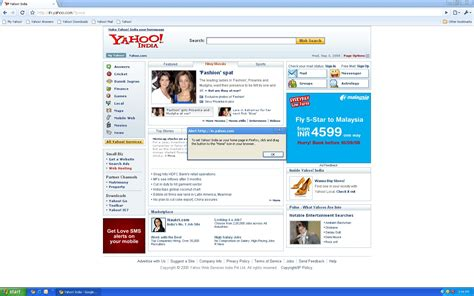 make yahoo my homepage images