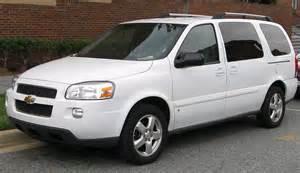 Uplander Chevrolet Chevrolet Uplander