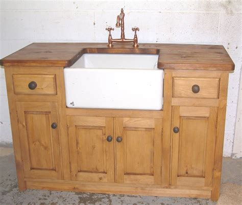 kitchen sink and unit freestanding kitchen sink unit pippy oak freestanding