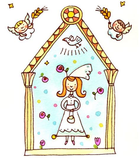 invitacion de primera comunion dibujo primera comunion on pinterest first communion communion