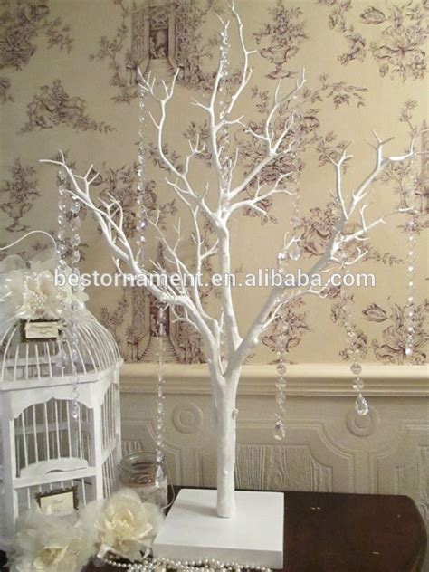 Tree Decor by Manzanita White Wedding Wishing Tree Buy Artificial