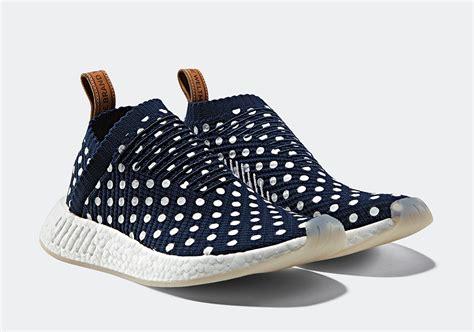 Premium Adidas Nmd Cs2 Polkadot Navy adidas nmd city sock 2 ronin pack polka dot kicksonfire