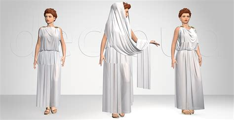 ancient greek costume history pictures showing how to recreate a greek chiton dress male models picture