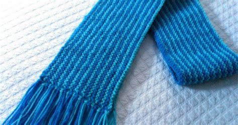 wildknitter knit pattern for the special olympics scarf