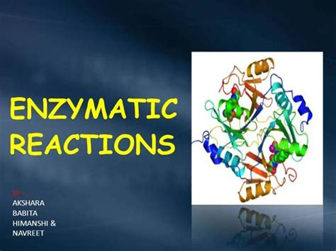 enzyme template enzyme ppt authorstream