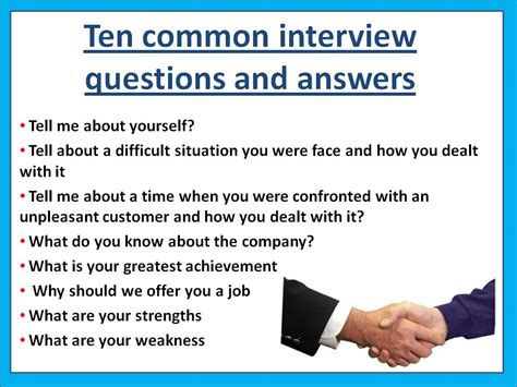 interview questions common interview questions and answers jobsamerica info
