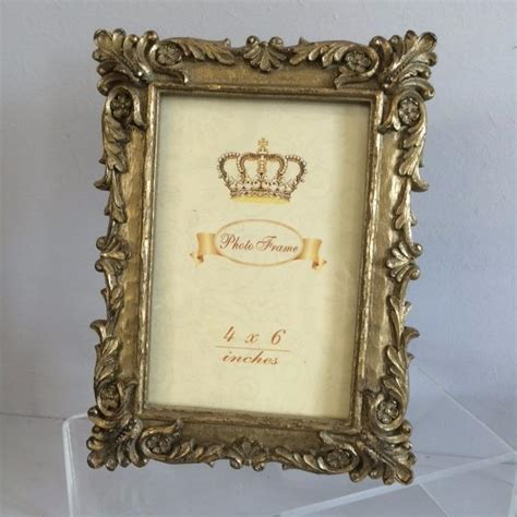 photo picture frames silver gold mini intricate victorian
