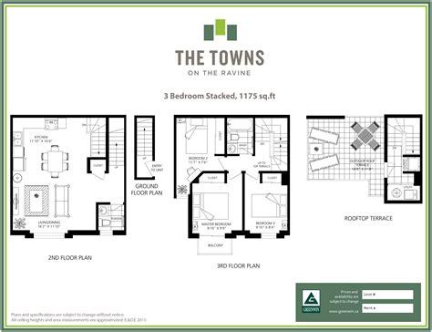 stacked townhouse floor plans stacked townhouse floor plans gurus floor