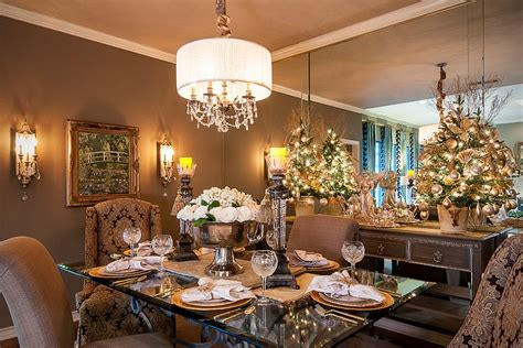 Dining Room Christmas Decorations by 21 Christmas Dining Room Decorating Ideas With Festive Flair