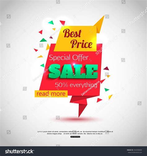 design banner sle sale banner design sale background your stock vector