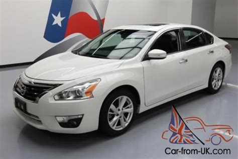 2014 nissan altima sunroof 2014 nissan altima 2 5 sl htd leather sunroof nav
