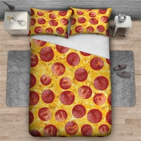 pizza bed sheets 12 funny and creative bedding sets cute comforters