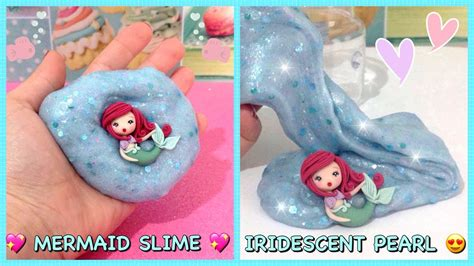 slime tutorial ita mermaid slime iridescent pearl super