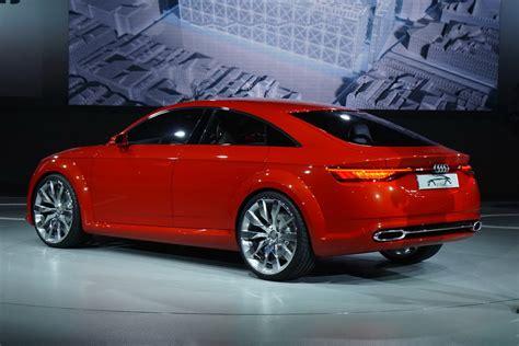 Audi Tt 4 Door by Production Audi Tt Sportback Set For Guangzhou Auto Show