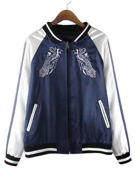 Bomber Jacket shop embroidered bomber jacket
