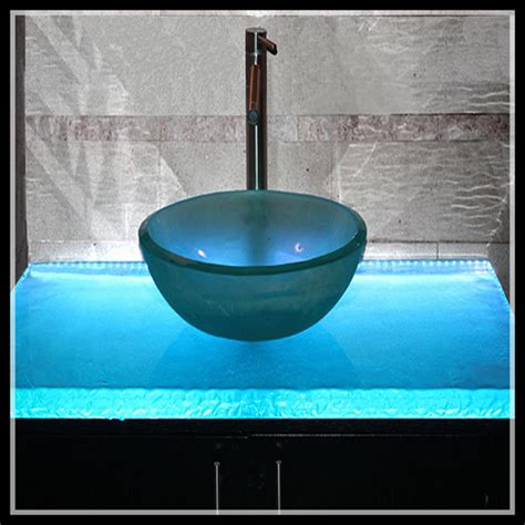 glass bathroom countertops sinks textured one piece bathroom sink and countertop view one