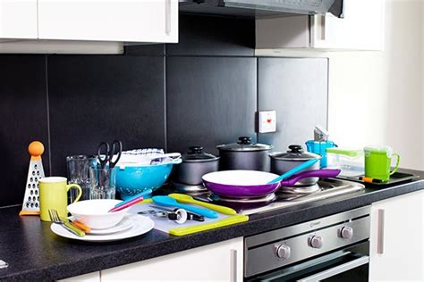 Student Kitchen Essentials Pack by Bedroom And Kitchen Packs Unite Students