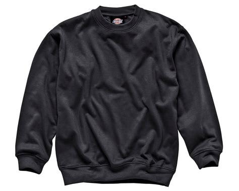 Sweatshirt Workwear Black dickies crew neck sweatshirt sh11125 mammothworkwear
