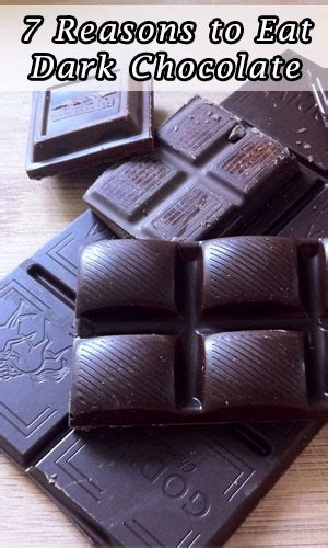 7 Reasons Chocolate Is For You by 7 Reasons To Eat Chocolate Fitering