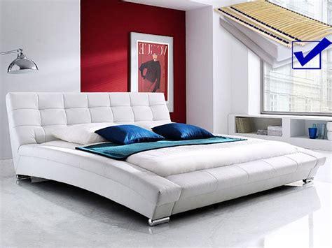 polsterbett weiss komplett bett  matratze