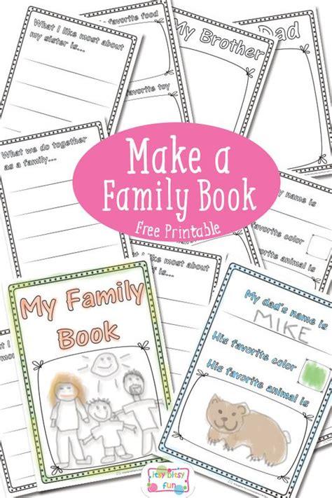 printable family tree books 23 best family preschool theme images on pinterest