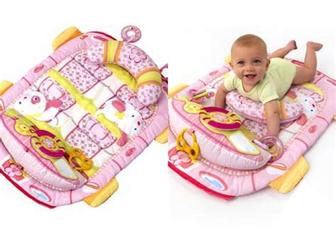 Pretty In Pink Play Playmat bs8819 pretty in pink tummy cruiser play mat babyville boutique