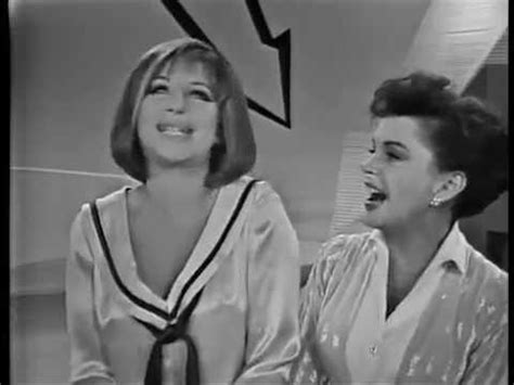 barbra streisand on judy garland judy garland barbra streisand be happy and happy days