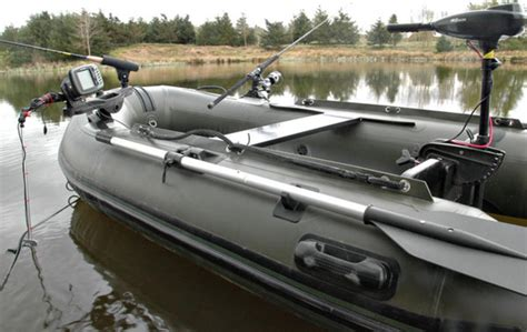 pike fishing inflatable boat bison marine olive green inflatable fishing sports air rib