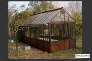 Supérieur Serre De Jardin En Bois #1: Serre-jardin-www.silice-cambium.com_.jpg