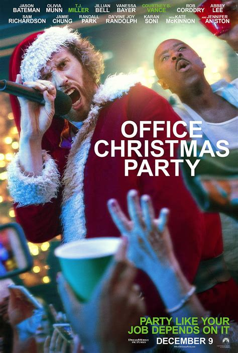 Office Christmas Giveaways - watch two new clips from office christmas party